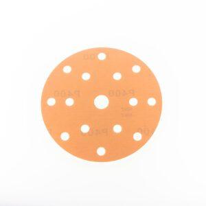 Disco abrasivo con foam yellow