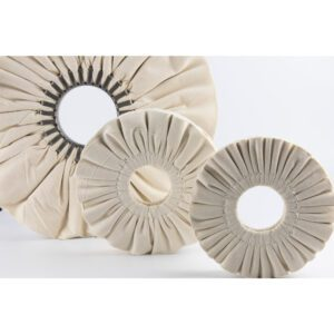 Ventilated discs for polishing