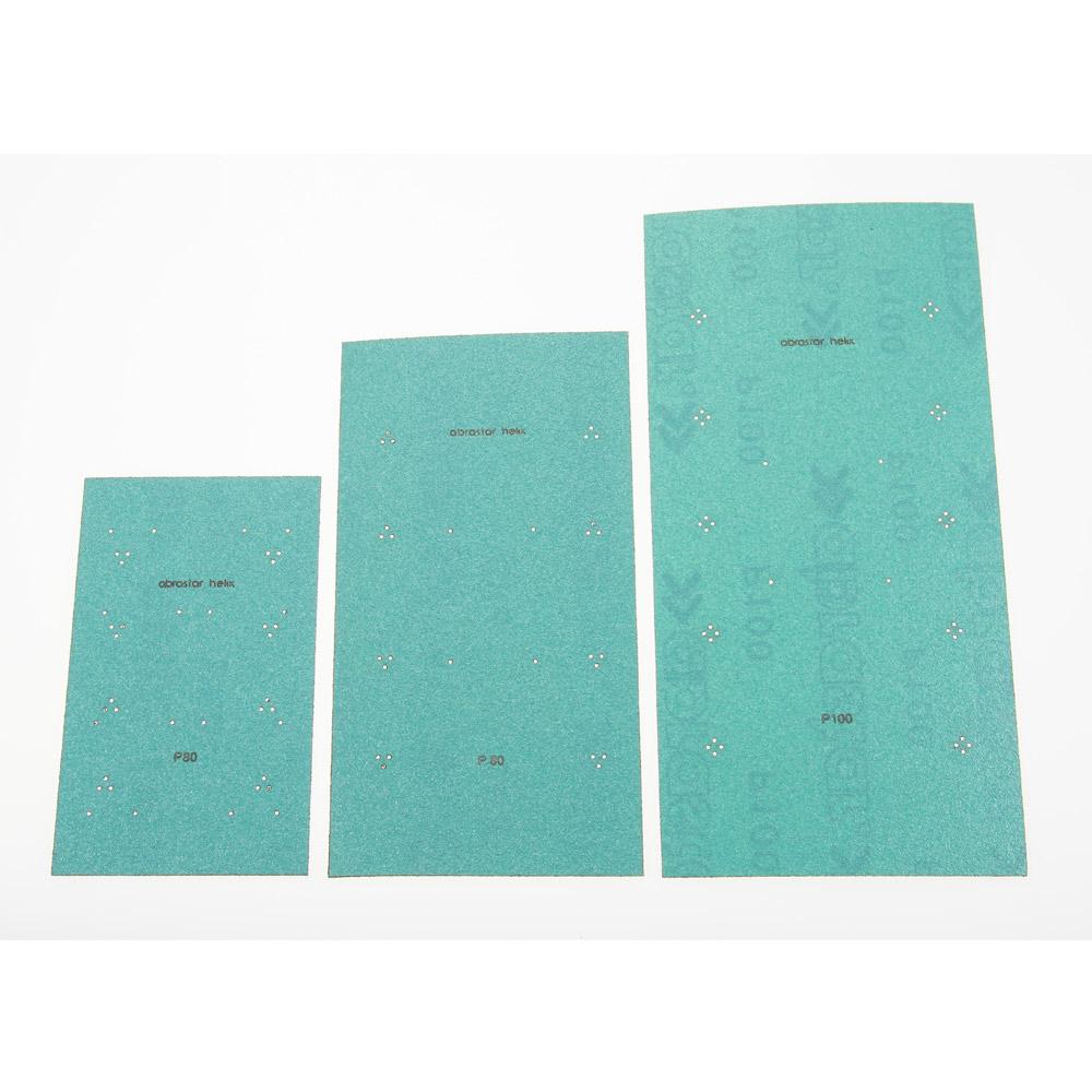 Pliegos abrasivos velcro Helix Green
