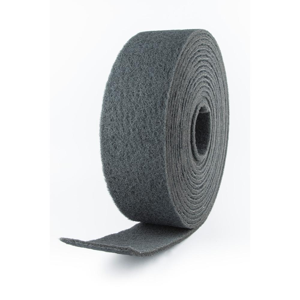 Rollo fibra abrasivo gris