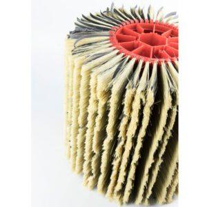 Rodillo de cepillos de lijado tampico