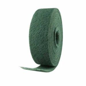 Rollo de fibra verde