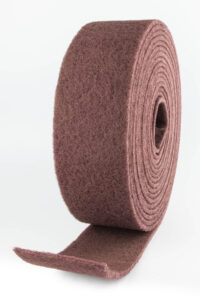 rollo fibra rojo
