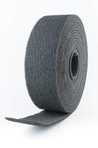 rollo fibra gris